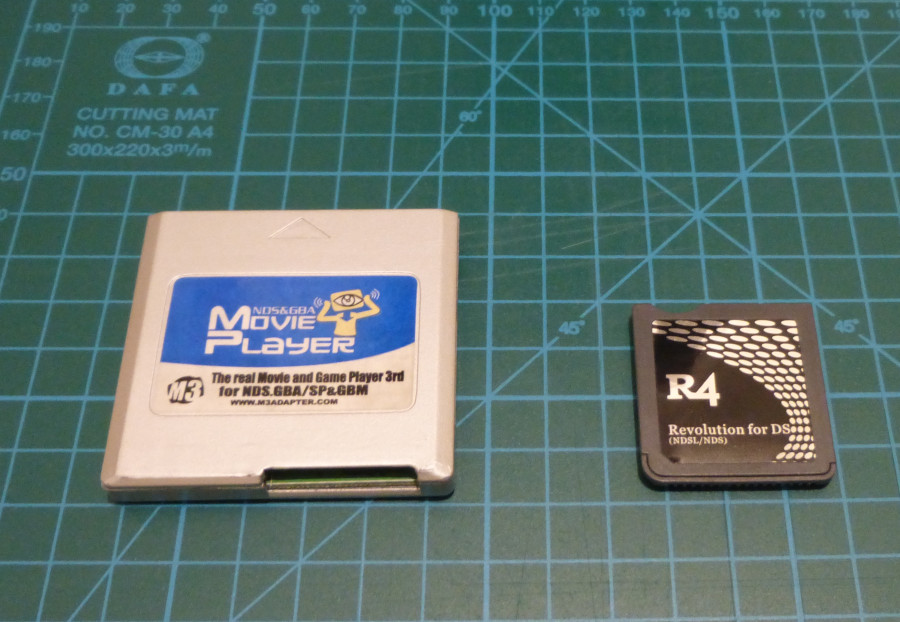 Nintendo DS flashcards.
